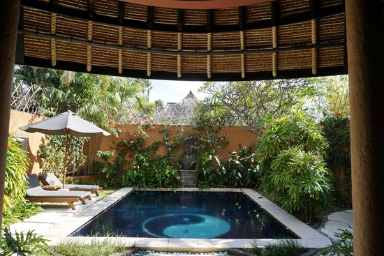 The Villas Bali Hotel & Spa : View from bed