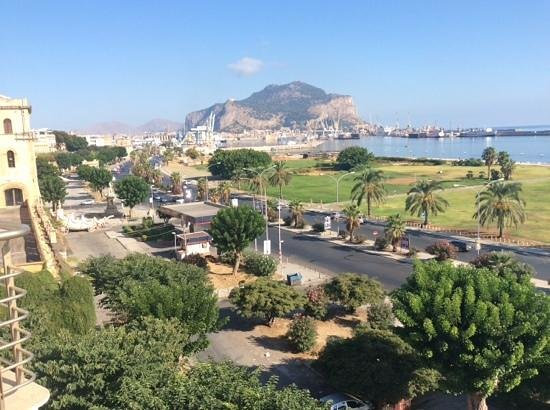 NH Palermo: a room with a view