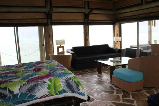 Coconuts Beach Club: inside the overwater fale