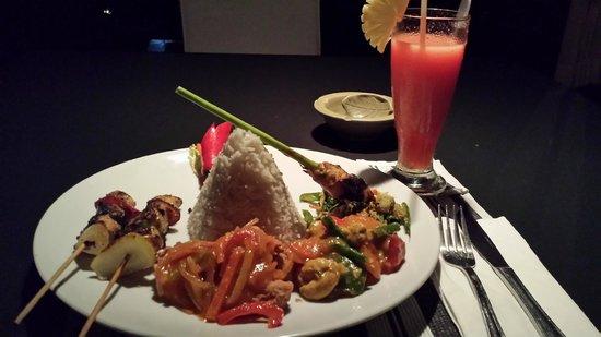 Villa Taman di Blayu: Delicious meal