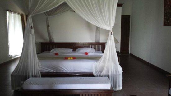 Villa Taman di Blayu: Comfy bed