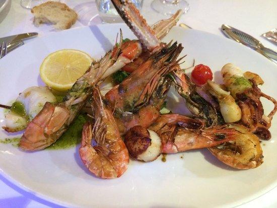 Le Paradis Marin: Grigliata mista di pesce