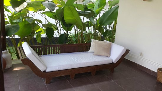 Villa Taman di Blayu: Comfy spot for reading or napping!