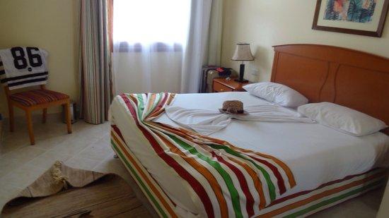 Poinciana Sharm Resort & Apartments : Room 123 bedroom