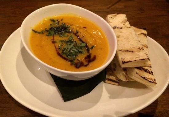 Pumphouse Bar & Restaurant: Pumpkin and Fennel Soup