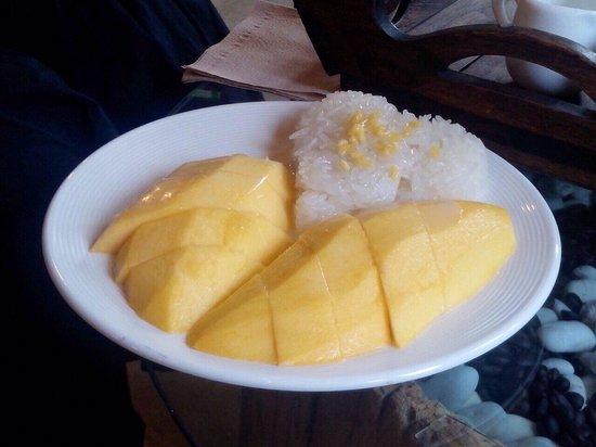 Tanita Coffee House: Mango steaky rice