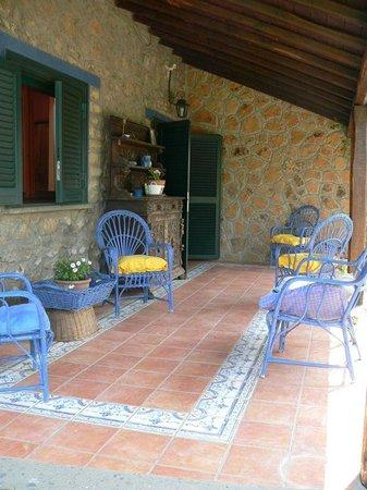 La Casa Del Pettirosso: portico