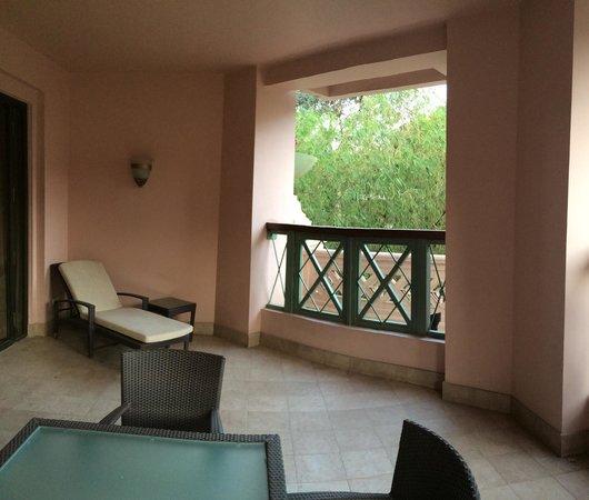 The Leela Palace Bengaluru: Balcony