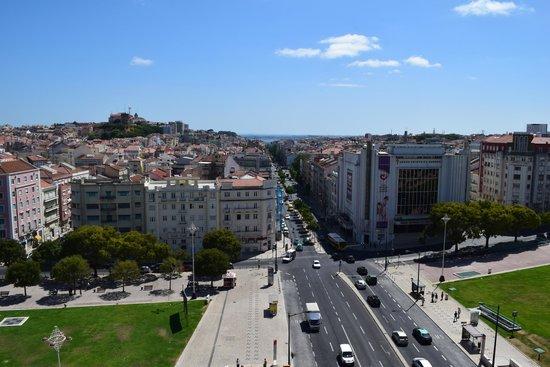 Hotel A. S. Lisboa: Vista desde la ventana de la habitación