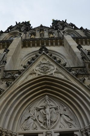 St. Wenceslas Cathedral: Detail.
