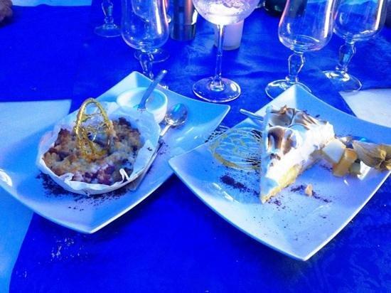 La Marine: tasty deserts