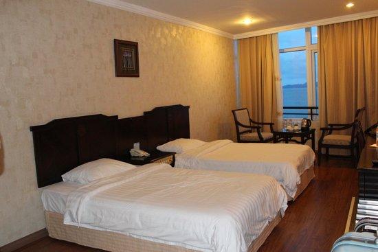 Halong Pearl Hotel: 客室