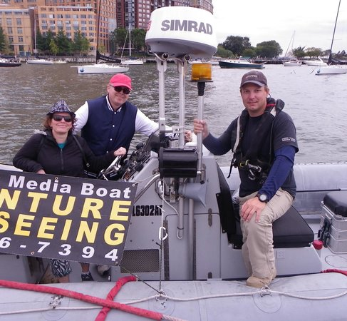 New York Media Boat / Adventure Sightseeing Tours: Captain Bjoern