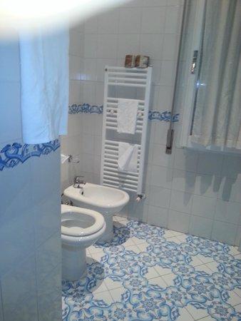 Hotel Alexander Palme: Particolare bagno