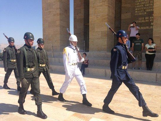 Le mausolée Anitkabir : Ataturk Mausoleum