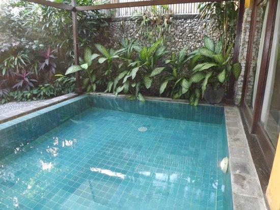 Hotel Tugu Bali : Super de piquer une tête au saut du lit!