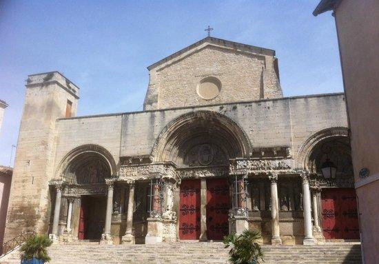 Abbatiale de Saint Gilles : Abbatiale Saint-Gilles (Gard), France.