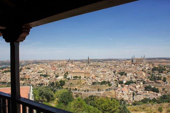 Parador de Toledo: View of Toledo from the Parador