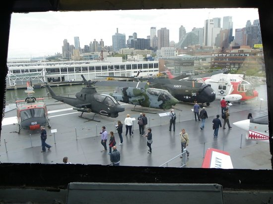 Intrepid Sea, Air & Space Museum: View of the flight from the Control Tower