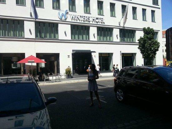 Novum Select Hotel Berlin Checkpoint Charlie: Ansicht außen