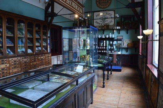 Jackfield Tile Museum: The Showroom