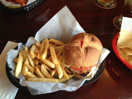 The Depot Pub: Grilled Chicken Sandwich