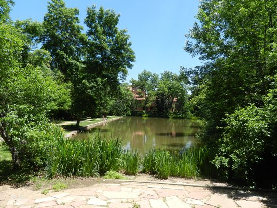 University of Colorado at Boulder : Some Tranquility on Campus
