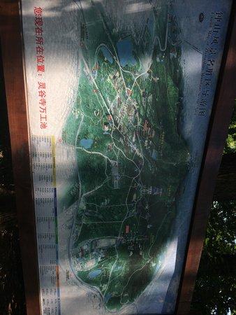 Línggu Sì: 地図