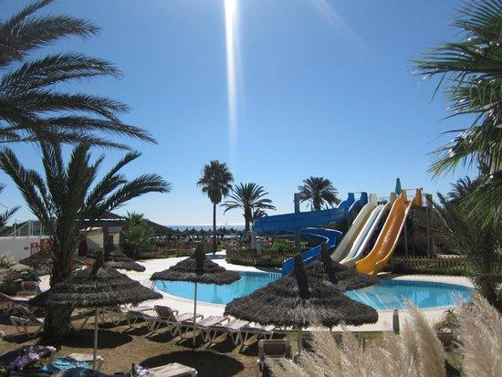 Vincci Nozha Beach Resort : Toboggan Plage