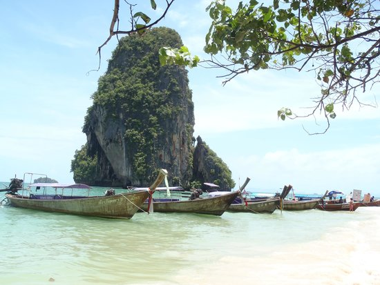 Railay Beach, Tailandia: Phra Nang Beach