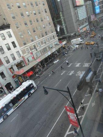 InterContinental New York Times Square: vista desde el piso 6