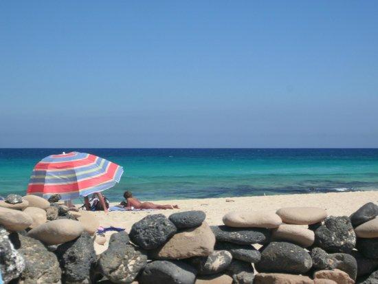 Parque Natural de Corralejo: blue blue ocean