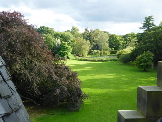 Carberry Tower Mansion House and Estate: View from room