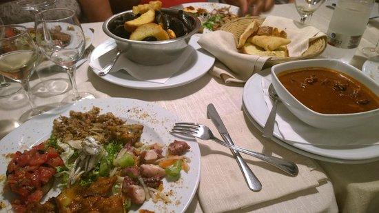 Dal Cozzaro : antipasto degustazione