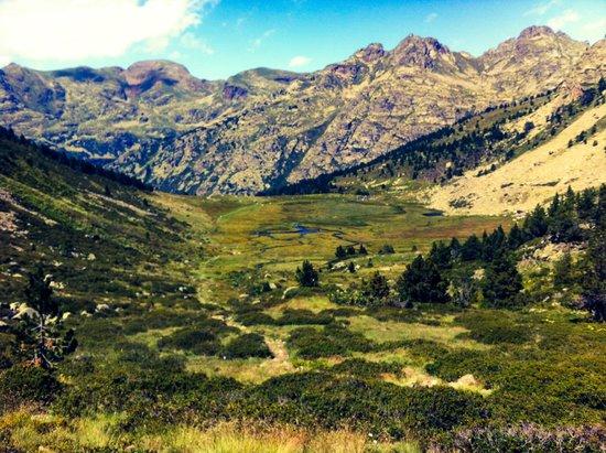 Valle de Incles: vistas