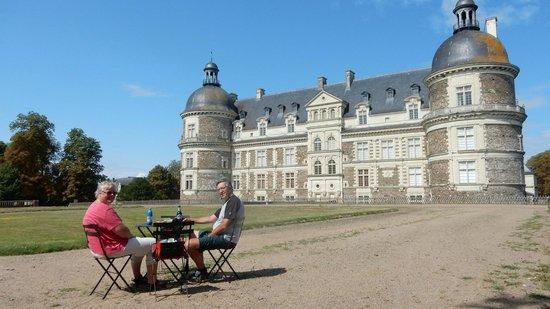 Chateau de Serrant: Genieten in de kasteel tuin