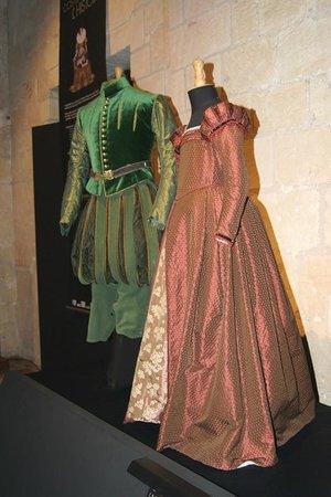 Cité Royale de Loches : Costume exhibition at Loches Chateau