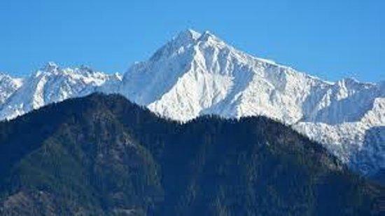 Sarahan, Indien: Srikhand Mahadev peak