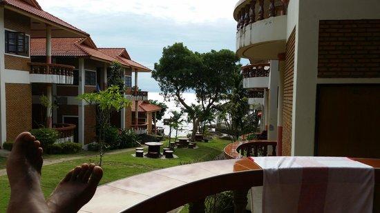 Koh Tao View Cliff Resort: From my balcony