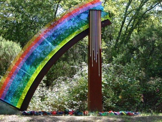 Parco Sculture Del Chianti: The Rainbow