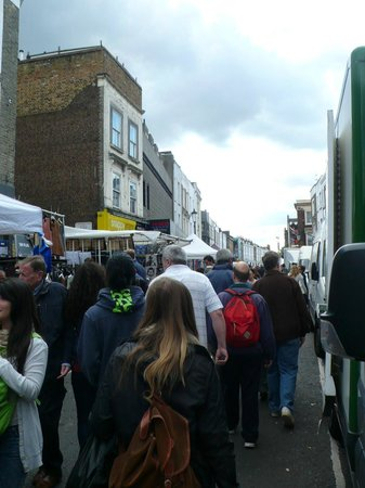 Portobello Road Market: Portobello road - Portobello market