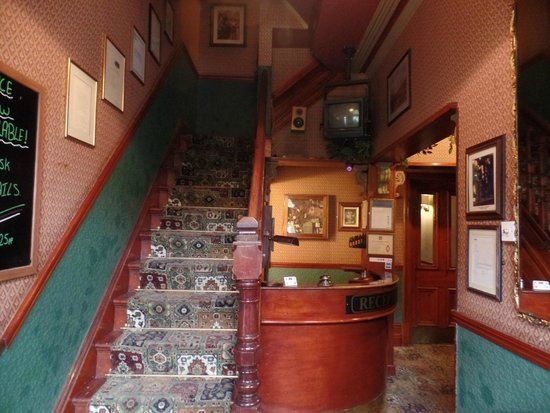 The Butlers Hotel : Historic reception area.
