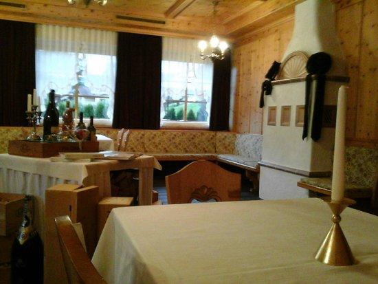 Hotel Christof: la stube