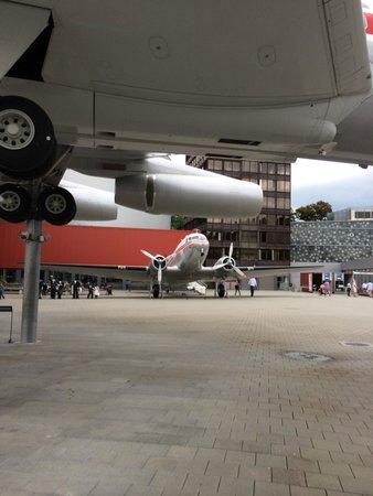 Verkehrshaus der Schweiz: planes