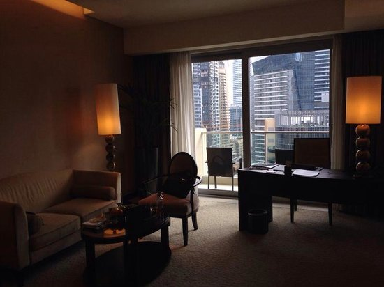 فندق ذا آدرس مارينا: гостиная