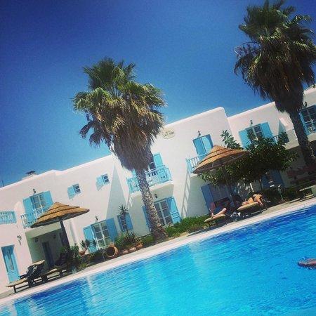 Hotel Lady Anna: vu de la piscine