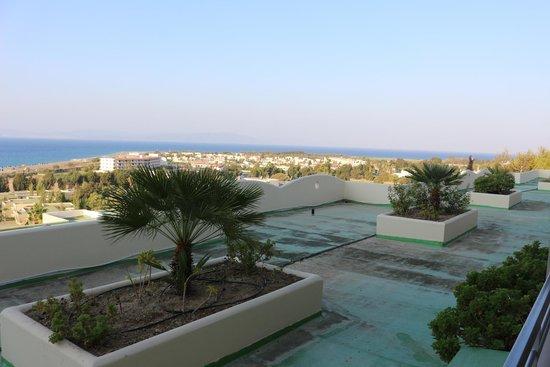 Kipriotis Panorama Hotel & Suites: Aussicht Hotelzimmer