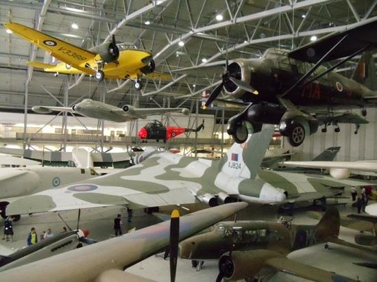 Imperial War Museum: Vulcan and many more.