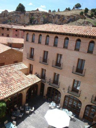 Cienbalcones Hotel : vista desde la habitacion