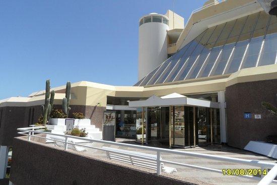 Hotel Riu Palace Jandia: Eingang